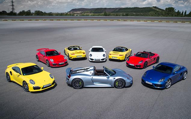 Тест трекового суперкара Porsche 911 GT3. Фото 9