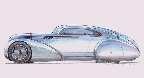 Компания Icon создаст электрическое купе в духе автомобилей 1930-х. Фото 1