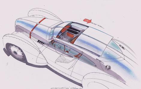 Компания Icon создаст электрическое купе в духе автомобилей 1930-х. Фото 3