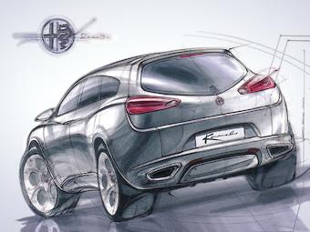 Кроссовер Alfa Romeo оснастят 500-сильным мотором