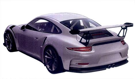 Опубликованы изображения трекового суперкара 911 GT3 RS