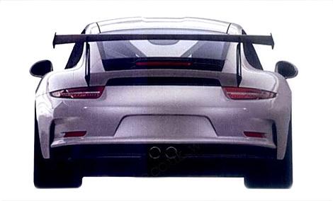 Опубликованы изображения трекового суперкара 911 GT3 RS. Фото 2