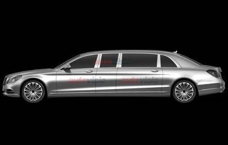 Стоимость Mercedes-Benz S-Class Pullman превысит миллион долларов