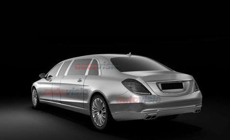 Стоимость Mercedes-Benz S-Class Pullman превысит миллион долларов. Фото 1