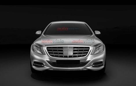 Стоимость Mercedes-Benz S-Class Pullman превысит миллион долларов. Фото 3