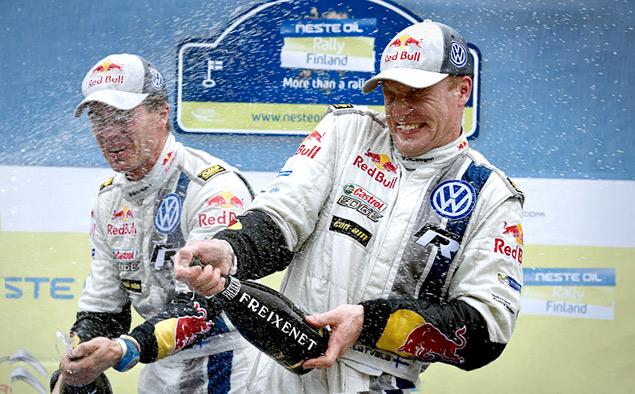 Латвала выиграл Ралли Финляндии, опередив Ожье во второй раз в сезоне. Фото 3