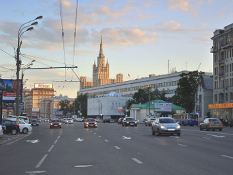 В Москве увеличат число полос на внутренней стороне Садового кольца