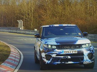 "Land Rover назвал дату премьеры ""заряженного"" Range Rover Sport"