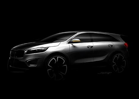 Kia Sorento нового поколения дебютирует до конца лета. Фото 2