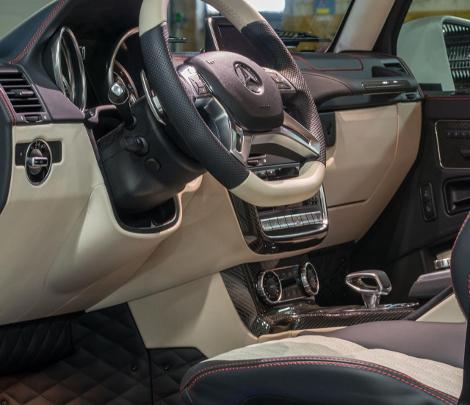 Немцы представили программу доработок для трехосного Mercedes-Benz G 63 AMG. Фото 2
