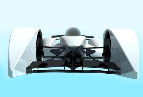 Ателье Quimera представило проект гоночного электромобиля