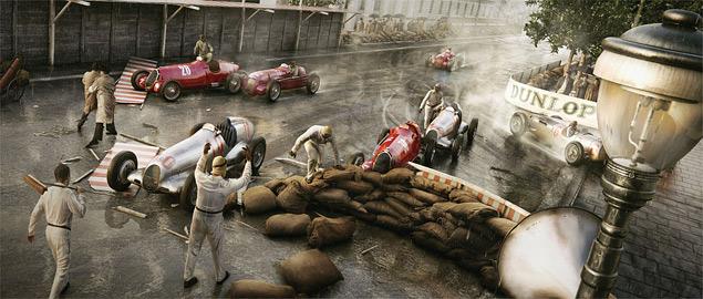 Фотореконструкция знаковых гонок «Серебряных стрел». Фото 4