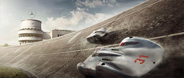 Фотореконструкция знаковых гонок «Серебряных стрел». Фото 5