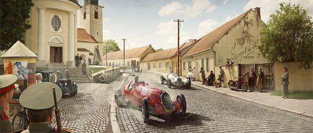 Фотореконструкция знаковых гонок «Серебряных стрел». Фото 6