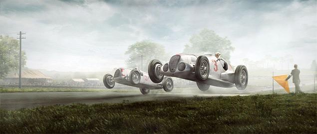 Фотореконструкция знаковых гонок «Серебряных стрел». Фото 7