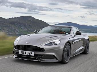 Спорткары Aston Martin получили 8-ступенчатый «автомат»