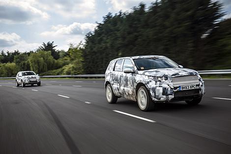 Внедорожник Land Rover Discovery Sport покажут в начале осени. Фото 1