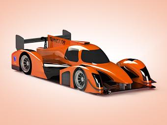 Представлена первая машина нового класса гонок на выносливость