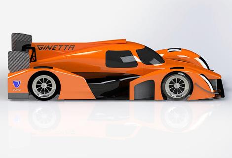 Компания Ginetta построила спортпрототип категории LMP3