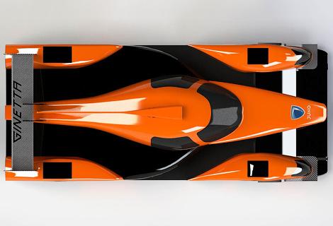 Компания Ginetta построила спортпрототип категории LMP3. Фото 1