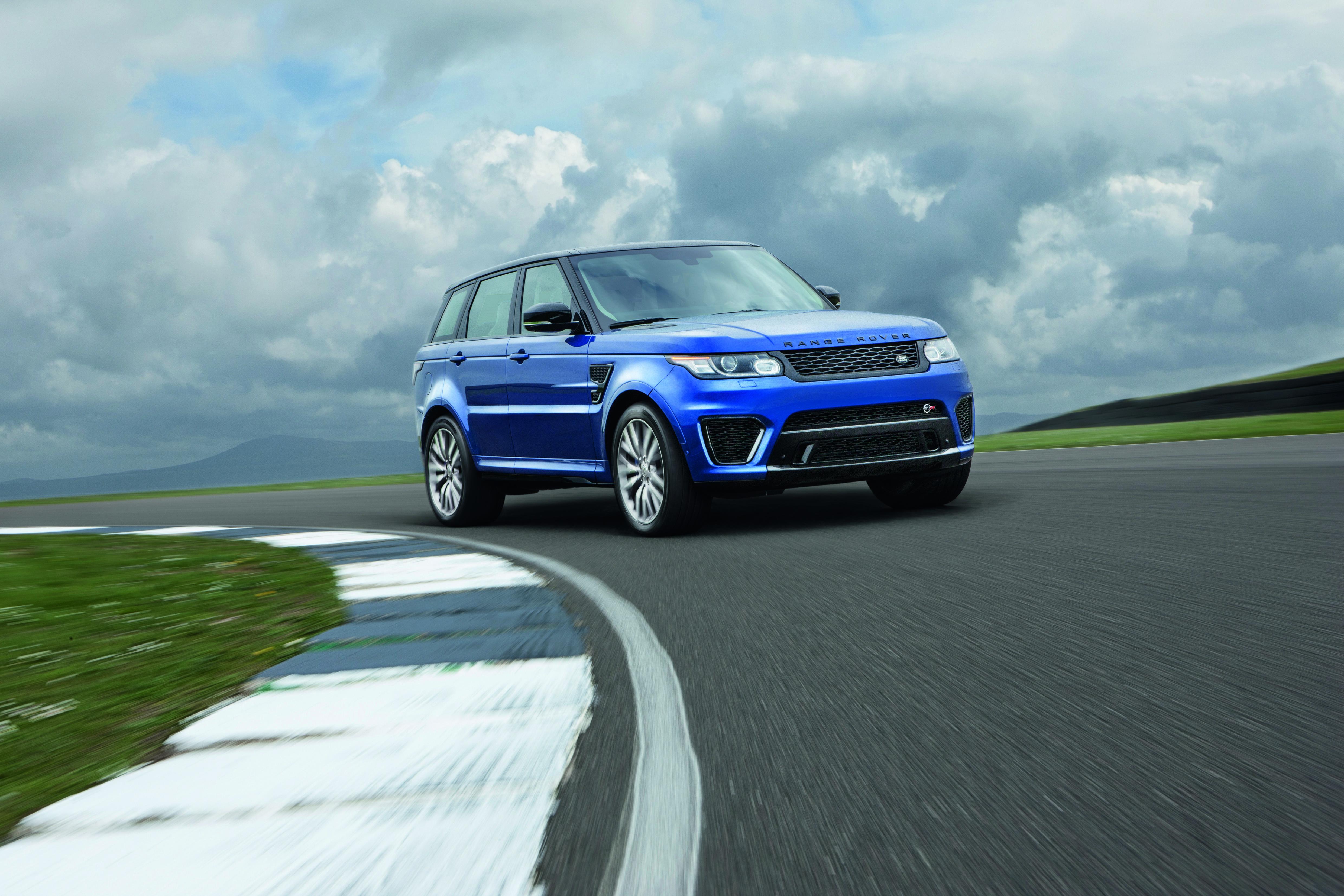 Представлен самый мощный Range Rover Sport