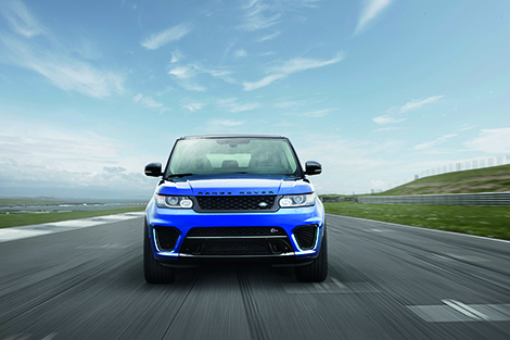 Range Rover Sport SVR получил 550-сильный двигатель V8. Фото 1