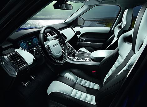 Range Rover Sport SVR получил 550-сильный двигатель V8. Фото 4