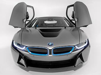 BMW подарит первому покупателю гибрида i8 в США набор сумок