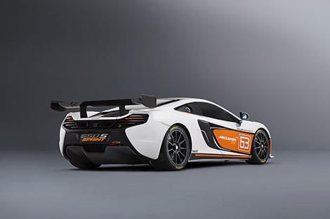Купе McLaren 650S Sprint получило улучшенную аэродинамику и перенастроенную электронику. Фото 1