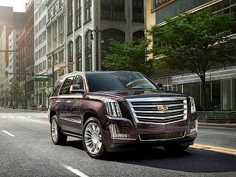 Cadillac Escalade оснастили 8-ступенчатым «автоматом»