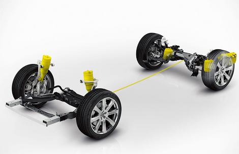 Следующий XC90 получит пневматическую подвеску и листовую рессору сзади