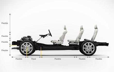 Следующий XC90 получит пневматическую подвеску и листовую рессору сзади. Фото 3