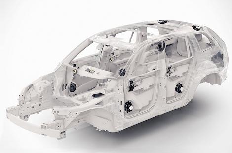 Следующий XC90 получит пневматическую подвеску и листовую рессору сзади. Фото 4