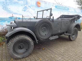 В Германии выставили на продажу машину лидера СС