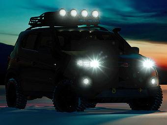 Опубликованы первые изображения прототипа новой «Нивы»