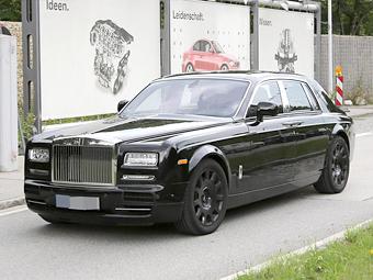 """Rolls-Royce начал испытания гибридного """"Фантома"""""""
