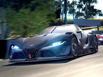 «Тойота» представила два виртуальных спорткара