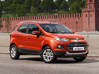 Ford EcoSport оказался на 100 тысяч рублей дороже Nissan Juke