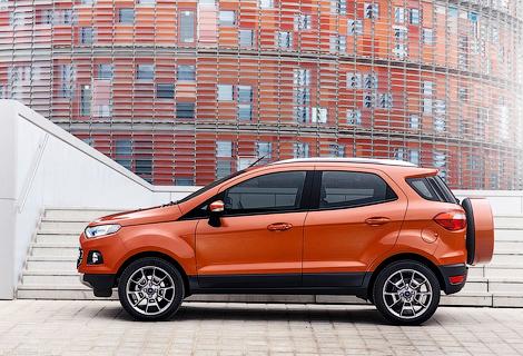 Самый маленький кроссовер Ford оценили в 699 тысяч рублей
