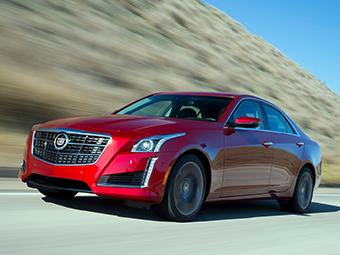 Cadillac отзовет в России седаны CTS