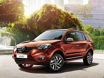 Renault привезет в Россию спецверсию кроссовера Koleos