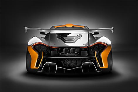 Компания McLaren показала трековую версию суперкара P1