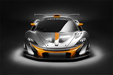 Компания McLaren показала трековую версию суперкара P1. Фото 1