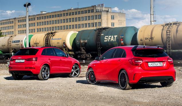 """Что взять: полноприводный хот-хэтч Mercedes A 45 AMG или """"заряженный"""" кроссовер Audi RS Q3?. Фото 7"""