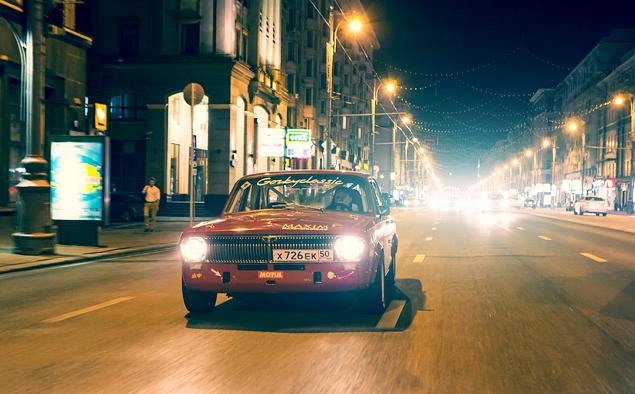 Один вечер зарулем гоночной «Волги». Фото 8