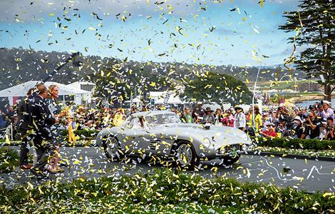 Купе Ferrari 375MM Scaglietti экс-президента Microsoft выиграло конкурс в Пеббл-Бич