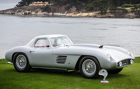 Купе Ferrari 375MM Scaglietti экс-президента Microsoft выиграло конкурс в Пеббл-Бич. Фото 1