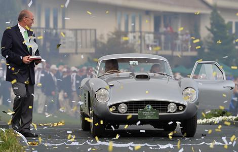 Купе Ferrari 375MM Scaglietti экс-президента Microsoft выиграло конкурс в Пеббл-Бич. Фото 2