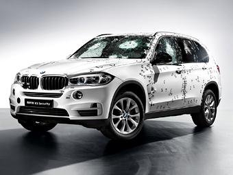 BMW привезет на Московский автосалон бронированный X5
