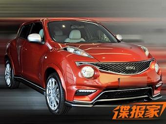 В Сети рассекретили перелицованный Nissan Juke от Infiniti